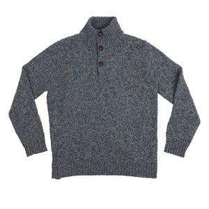 Charles Tyrwhitt L Large Sweater Merino Wool Gray